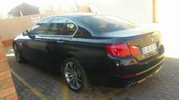 Bmw 5 series auto brown leather seats R215000