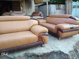 Set of Quality Leather Sofa for sale