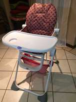 Chicco pocket lunch high chair