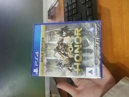 Ps4 For Honour Gold Edition sealed