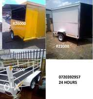 Newly Trailers built Trailers