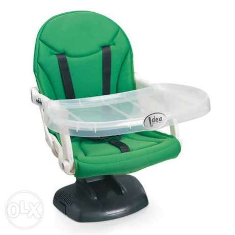 Baby booster seat made in italy كرسي اكل