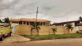 Six bedroom house for rent at Boadi junction residential area