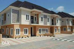 14 Units,Well finished luxury 4Bedrooms semi detached Duplex