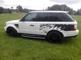 Land Rover Rangerover sport with lots of extras for a give away