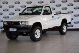 1999 Toyota Hilux 3.0 KZ-TE Raider Raised Body Single Cab,