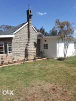 Newly Refurbished Colonial Bungalow For Rent along Kamiti Road.