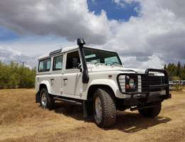 2007 Low mileage Defender 110 Td5 CSW