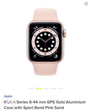 Apple Watch series6 size 44 Rose Gold New