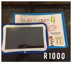 Bubblegum Kids Tablet with protective cover