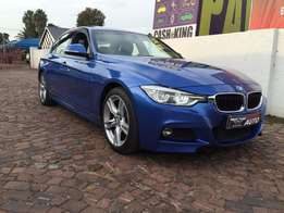 2016 Bmw 320D M-sport auto LCI,only 45000 kms,sunroof,like new