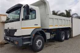 2004 Mercedes Benz 2628 10cube Tipper Truck for sale