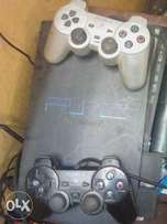 PlayStation 2 with 2 pad