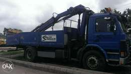 Tokunbo Scania truck with 6tons hiab