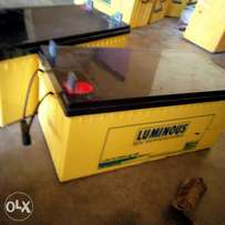 Battery luminous 200A 12v just 3months old