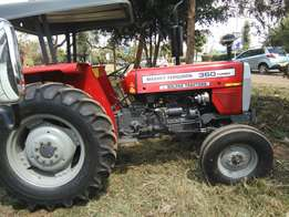Fresh import Mf 360 turbo charge with free plough.