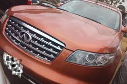 Clean registered full option Fx35..06 model wit DVD player n leather