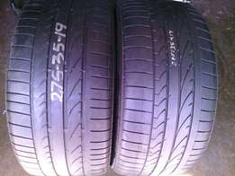 275/35/R19 on special for sale in a good condition each tyre R1100