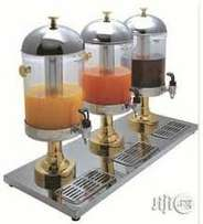 juice dispenser 3 bottles