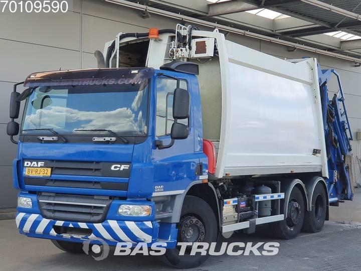 DAF CF75.250 6X2 Aufbau-defect! Manual Euro 5 Ros Roca - 2009