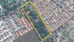 30327m² Prime development land and 4 stands