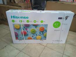 Smart Tv Hisense 43 Inch Brand New