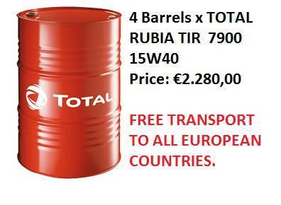 Total Rubia Tir 7900 15w-40 - 2017