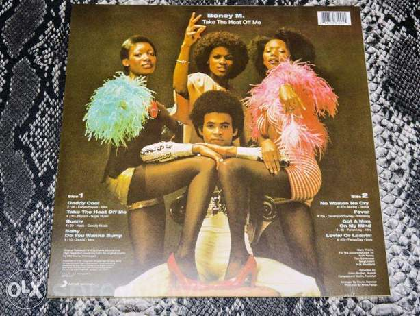 boney M take the heat of me including daddy cool vinyl lp