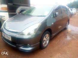 Toyota wish model 2003 silver grey colour in excellent condition