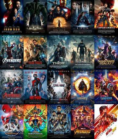 All 25 Marvel Movies Collection 1080p HD