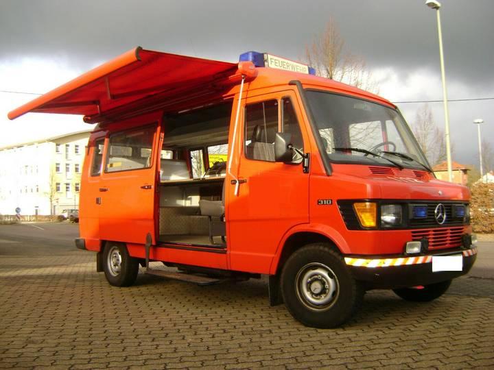 Mercedes-Benz 310 Feuerwehr Wohnmobil Expeditionsmobil - 1991