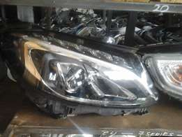 Benz w 205 zenon headlamps