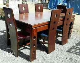 Dinning table with six seats