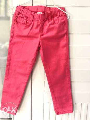 Carter's pants, excellent condition, worn once, size 3 years