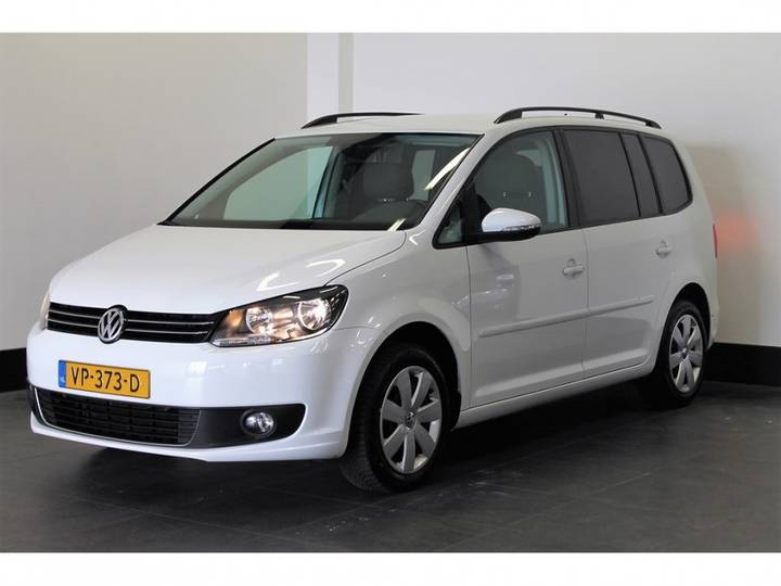 Volkswagen Touran Van 1.6 Tdi 105pk - Airco - Cruise _ 8.900,- Ex. - 2015