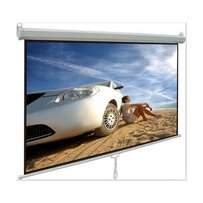 Alpha 150X150 cm Manual Projector Screen