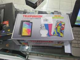 Telefunken 7 3G WiFi Tablets In Box In Good Condition