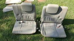 Excellent condition. 2x Landcruiser Prado foldable backseat with mats.