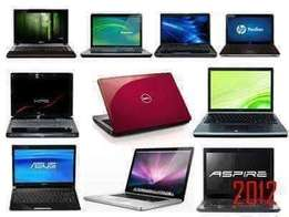Laptops for sale from duo core 320gb hdd 2gb ram at 650k in all brands