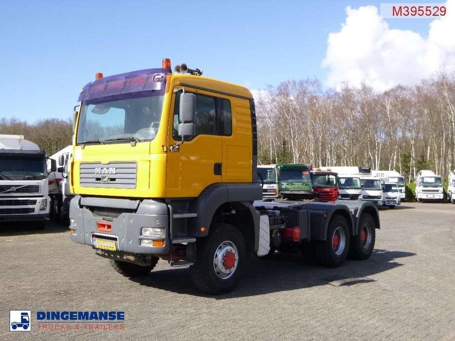 TGA 33.480 6X6 manual + tipper hydraulics - 2004