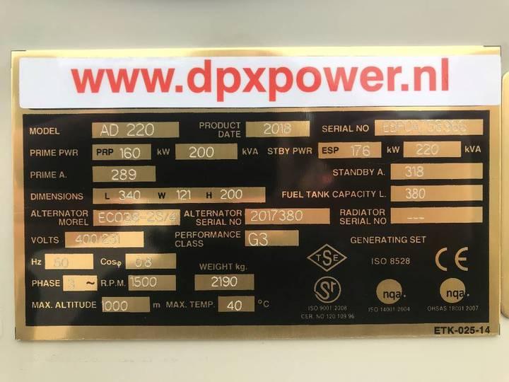 Doosan P086TI - 220 kVA Generator - DPX-15550 - 2019 - image 5