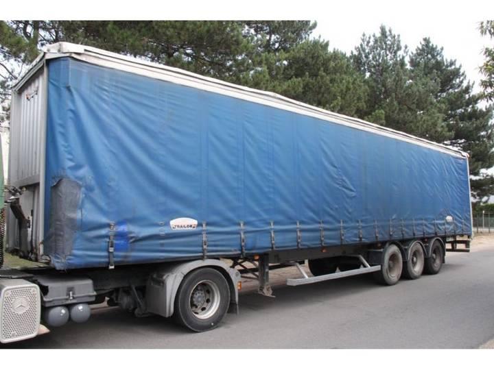 Trailor 3-essieux - 13m60 - ABS - Suspension Air - Bonne etat