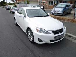 2012 Lexus IS 250 EX A/T Excellent Dekra / AA Report