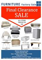 Studio Blue Furniture Warehouse Clearance SALE