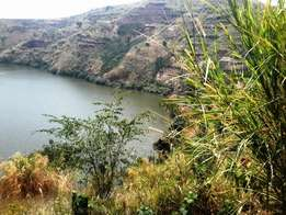 10 acres of land touching a crater lake for sale in Fort Portal