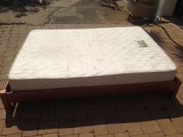 Dubbel Bed Mattress with Base