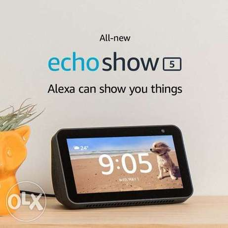 Amazon Echo Show 5 -- Smart display with Alexa