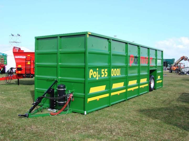 Pomot Slurry Tank Container, Buffer Tank 55 000 L - 2019