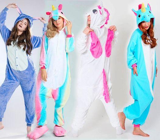 Пижама Кигуруми Единорог розовый радужный голубой Футужама Стич ... 17bd2f8b7135c