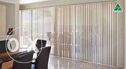 Vertical and Roller blinds